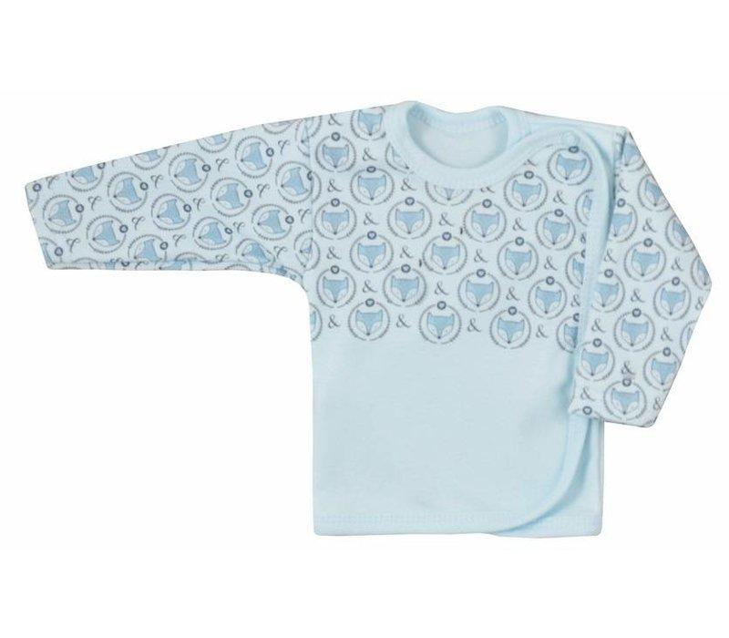 Baby overslag shirt - Fox