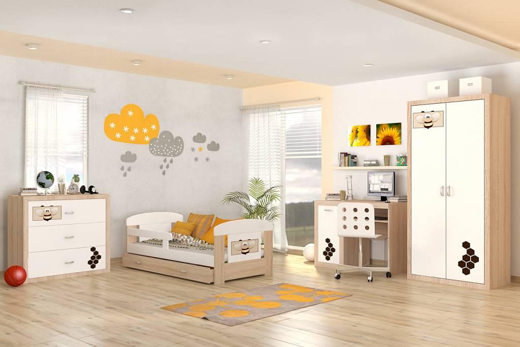 Kinderkamer Betaalbare Kinderkamer : Complete kinderkamer yuna subtiele printen en betaalbaar