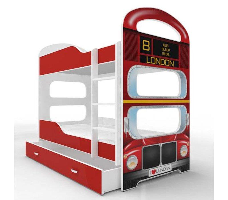 Stapelbed Nikita - London Bus