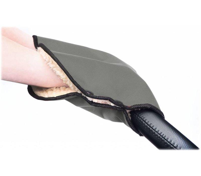 Handschoenen-Handwarmer voor de kinderwagen - grijs