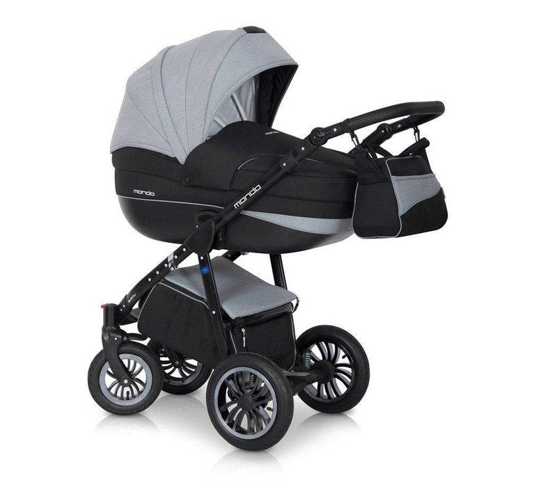 Kinderwagen combi Mondo BL - Carbon