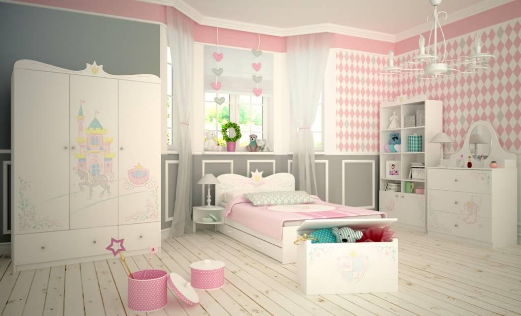 Prinses Kinderkamer Set : Complete kinderkamer kopen magic princess is betoverend baby