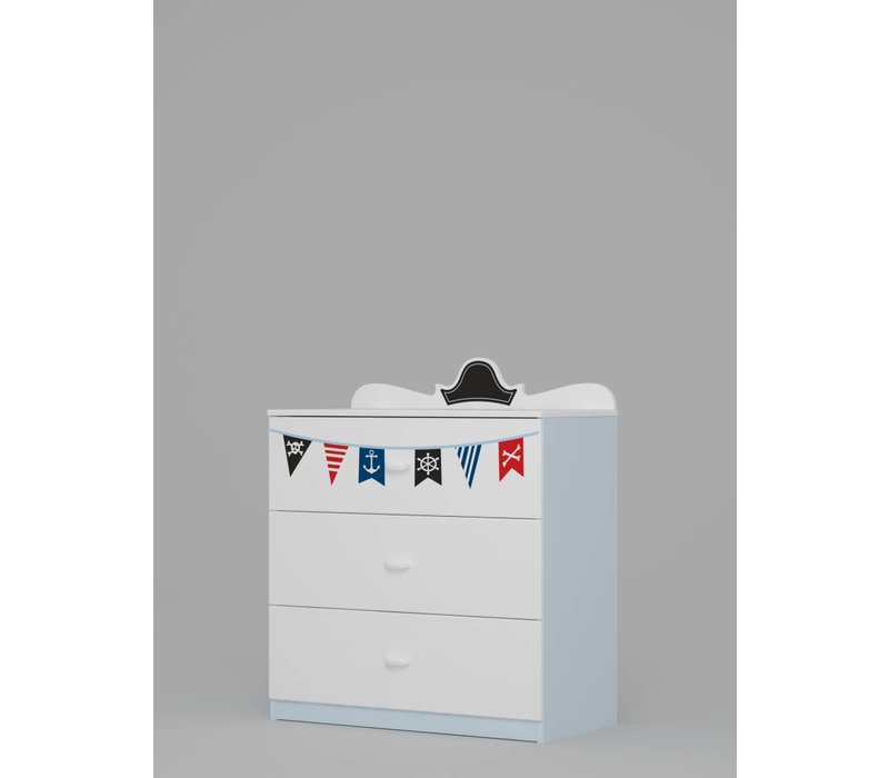 Commode - Ladekast Piraten