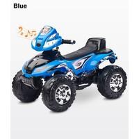Elektrische kinderquad Cuatro - blauw