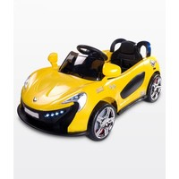Elektrische kinderauto met accu - Aero geel