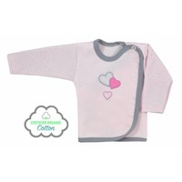 Baby overslag shirt - Love Bear