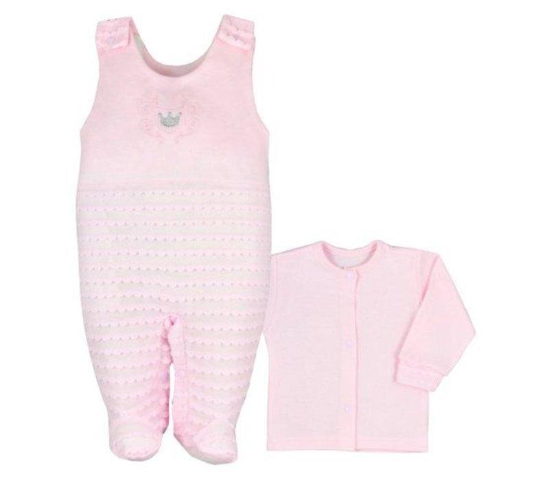 2-Delige babykledingset - Kroon