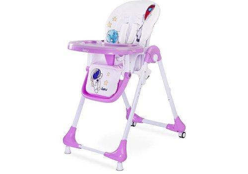 Kinderstoel Luna - lavendel