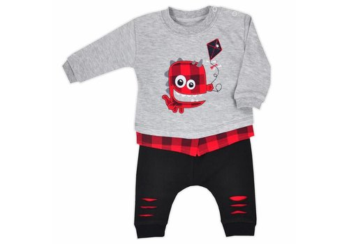 Baby outfit Monster