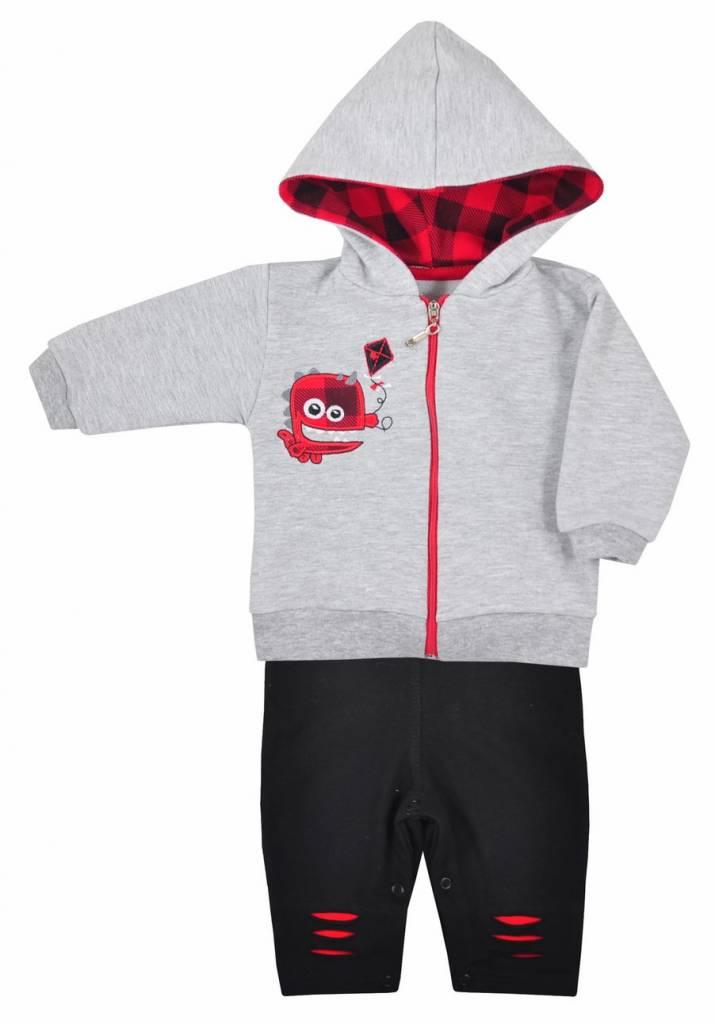 Setjes Babykleding.Stoere Babykleding Set Maak Een Goed Indruk Met Monster Baby En