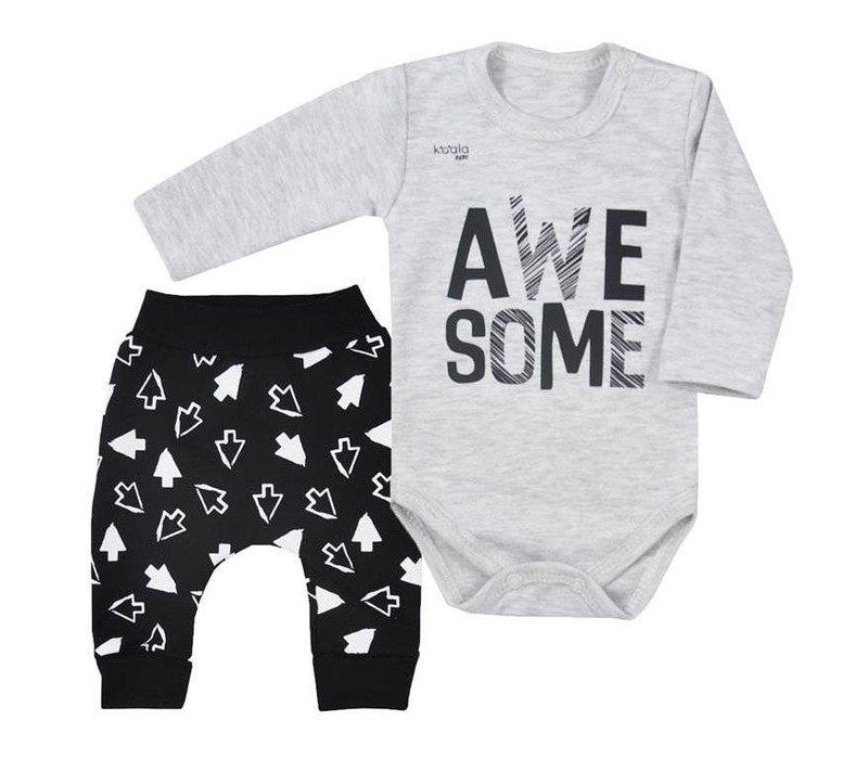 Babykleding setje  - Awesome