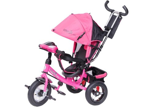 Driewieler Magic Bike - roze