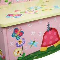 Speelgoedkist - Opbergbank Magische Tuin