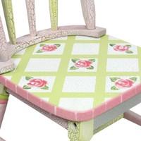 Houten kindertafel - Crackled Rose