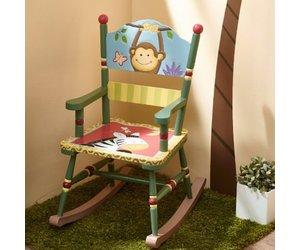 De Magische Tuin : Houten kinderschommelstoel magische tuin baby en kinderwereld
