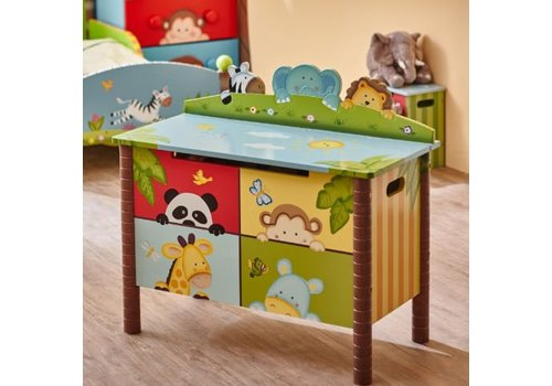 Speelgoedkist Zonnige Safari