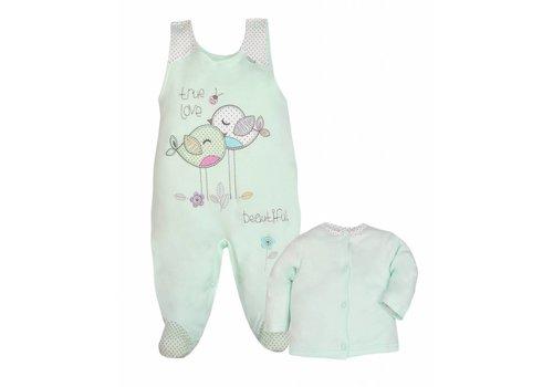2-Delige babykledingset - True Love - mint