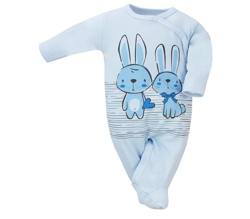 Baby pyjama - Bunnies - blauw