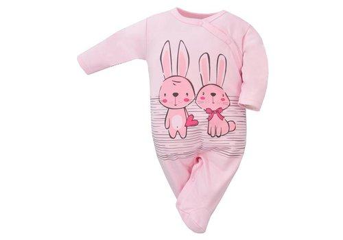 Baby pyjama  - Bunnies - roze