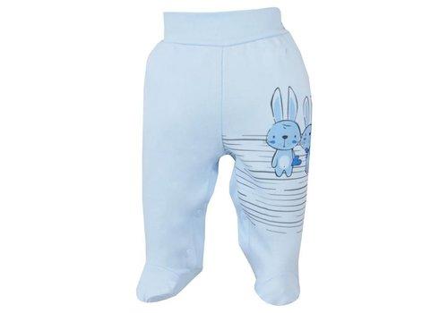 Baby broekje  - Bunnies - blauw