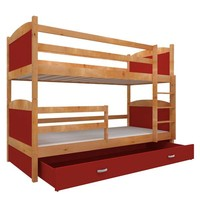 Stapelbed Michael - els-rood