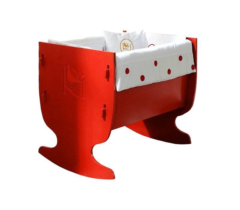 Wieg Davis - rood
