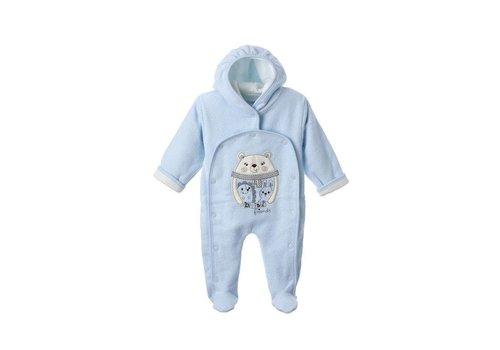 Warm baby pakje Bino - blauw