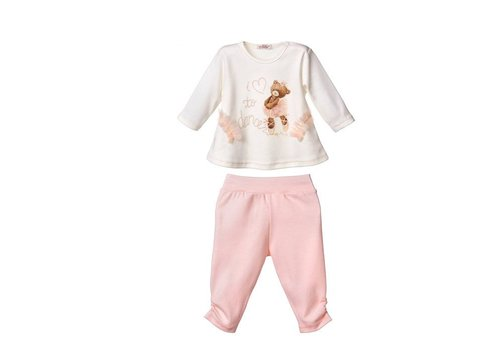 2-Delige baby outfit  - Fiska