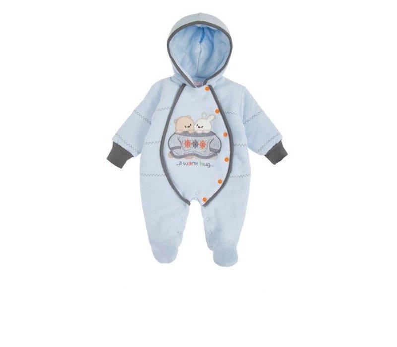 Baby winterpakje Bubu - blauw