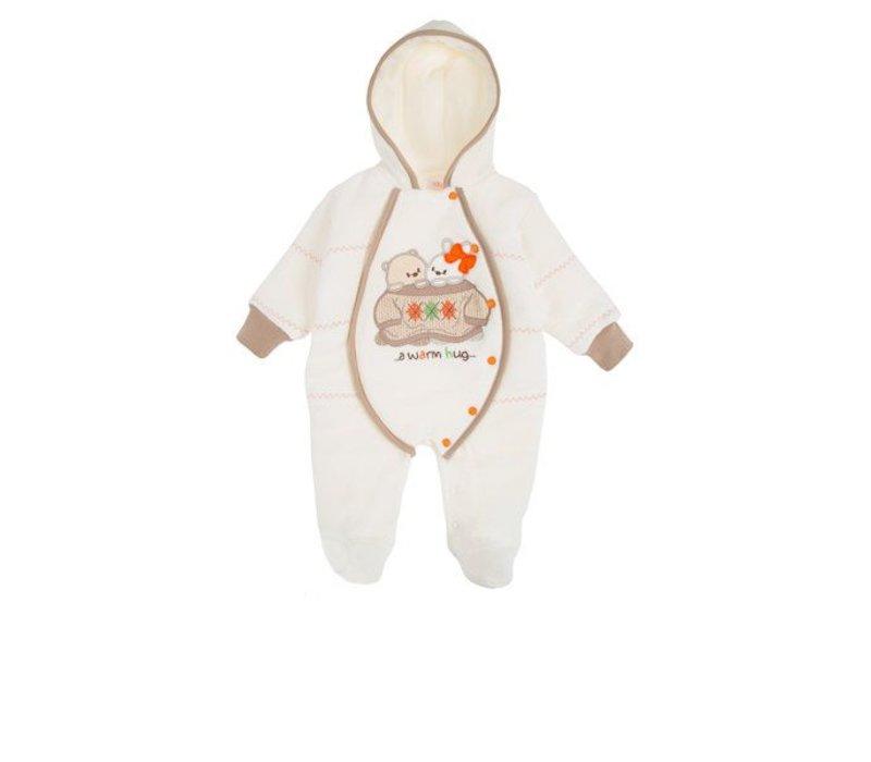 Baby winterpakje Bubu - ecru