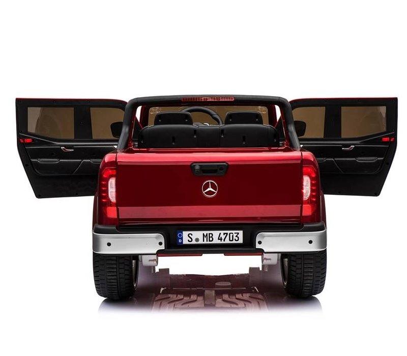 Elektrische kinderauto Mercedes X-klasse - rood