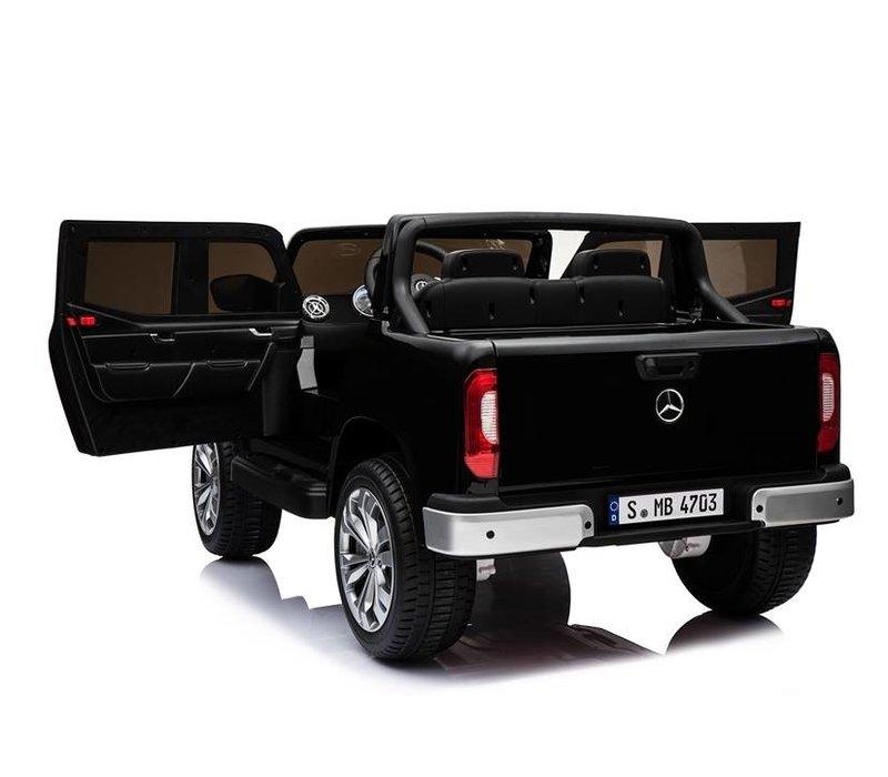 Elektrische kinderauto Mercedes X-klasse - zwart
