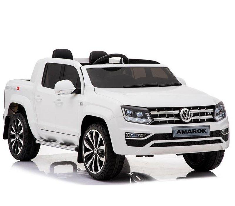 Elektrische kinderauto VW Amarok - wit