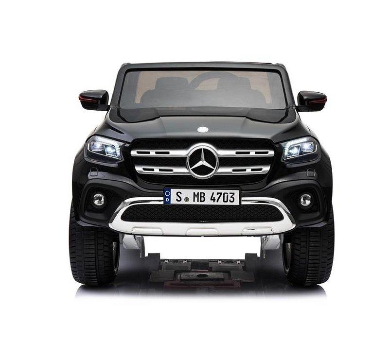 Elektrische kinderauto Mercedes X-klasse - zwart 1