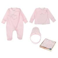 3-Delige babykleding geschenkset  - Celeste - roze