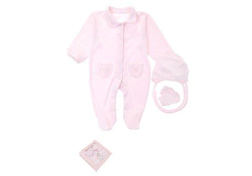 3-Delige babykleding geschenkset  - Supreme - roze