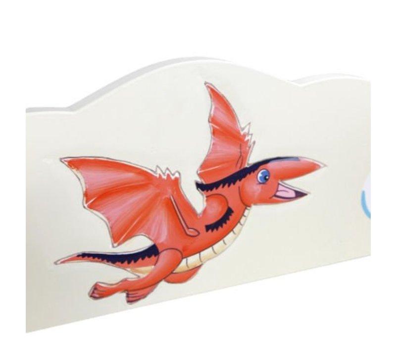 Houten  boekenkast - Dinosaurus Koninkrijk