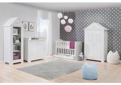 Complete babykamer Marseille met meegroei ledikant