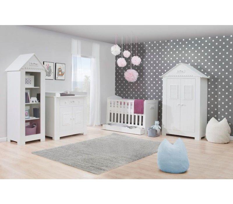 Babykamer - Marseille met meegroei ledikant