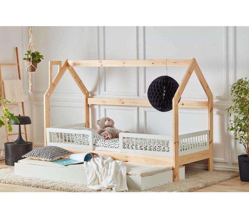 Kinderbed Met Huisje.Kinderbed Huisje 200x90 Baby En Kinderwereld