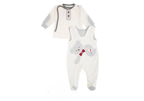 2-Delige katoenen babykledingset  - Brit