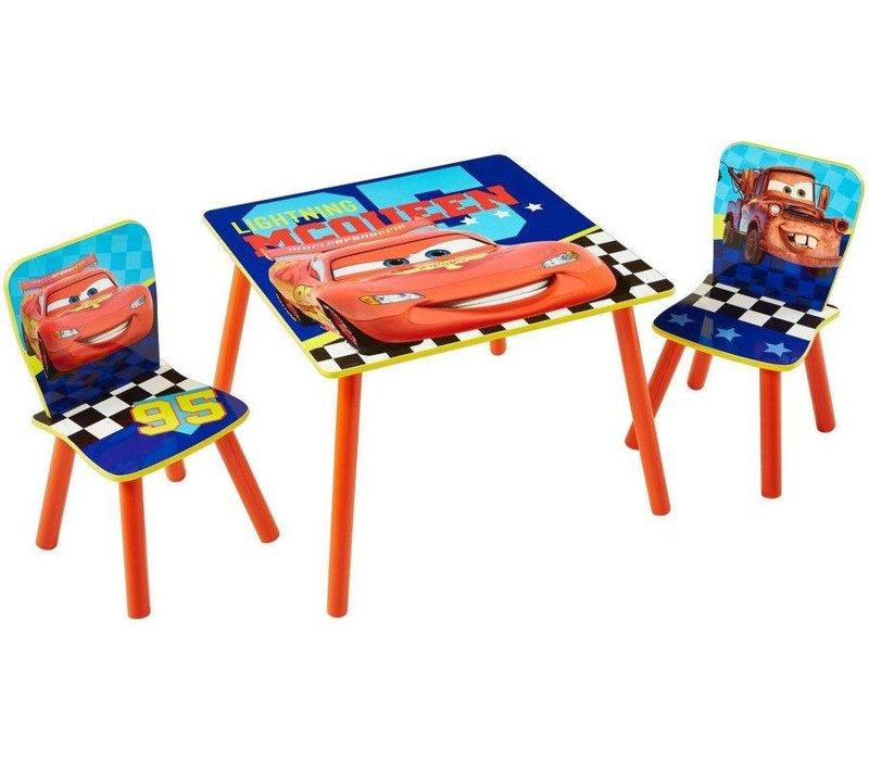 Disney Tafeltje + 2 stoeltjes - Cars