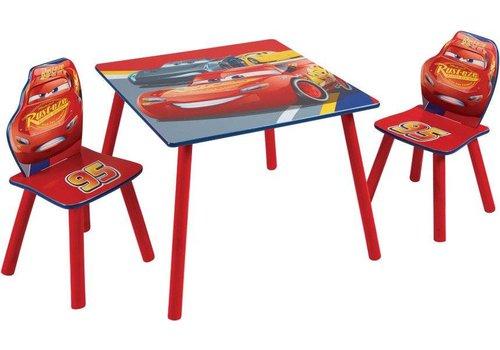 Disney Tafeltje + 2 stoeltjes - Cars 1
