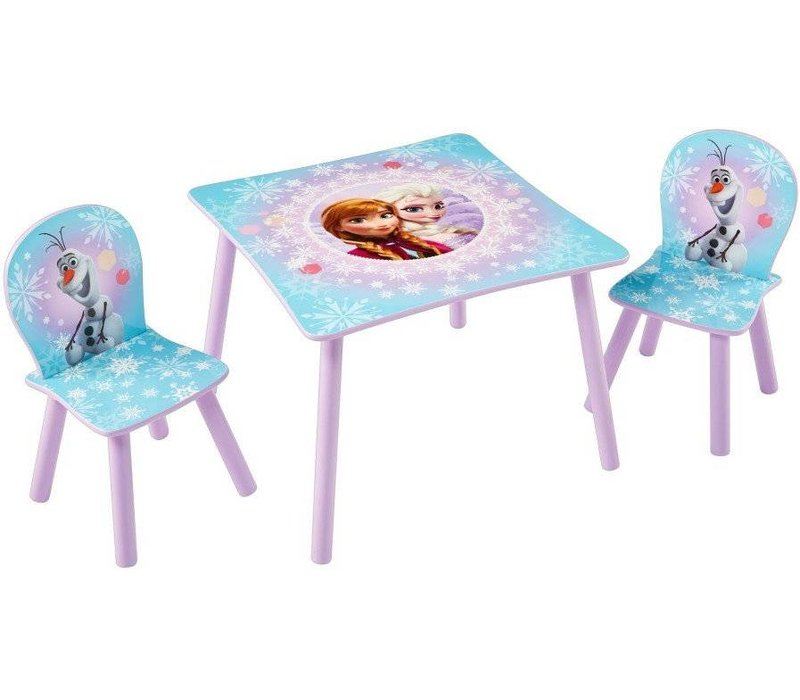 Disney Tafeltje + 2 stoeltjes - Frozen