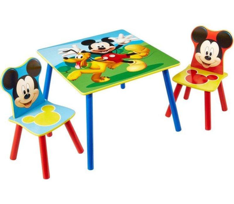Disney Tafeltje + 2 stoeltjes - Mickey Mouse