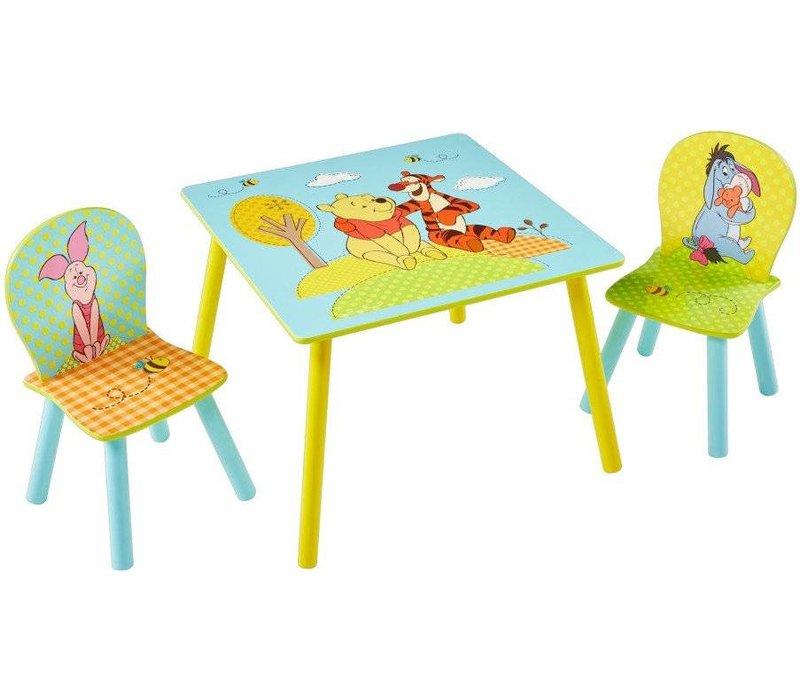 Disney Tafeltje + 2 stoeltjes - Winnie de Poeh