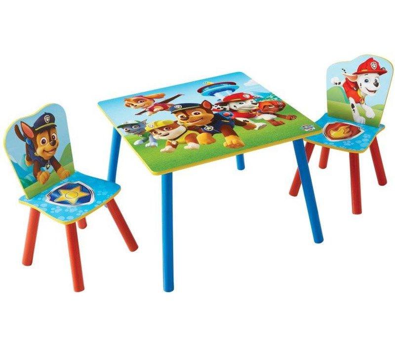 Disney Tafeltje + 2 stoeltjes - Paw Patrol