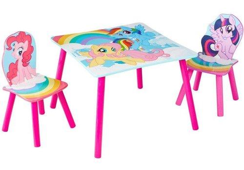 Tafeltje + 2 stoeltjes - My Little Pony
