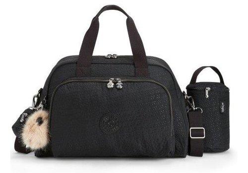 Luiertas - mommy bag - C-Black q emb