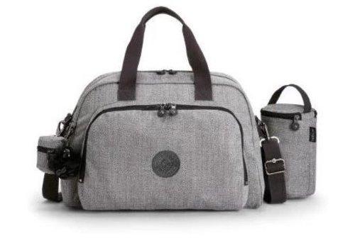 Luiertas - mommy bag - C-Cotton grey